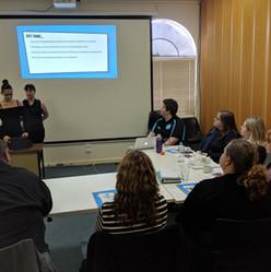 YDAN Team Nessa presenting