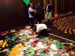YDAN participants on floor