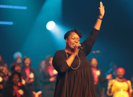 Chevelle Franklyn @ Potters Praise 2019 in Ghana