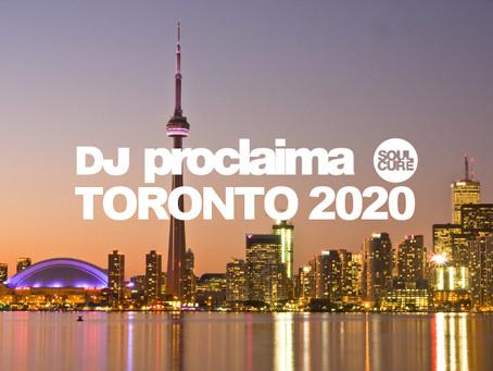 DJ Proclaima to Play Toronto
