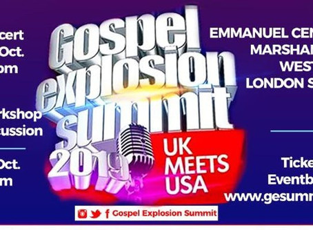 Gospel Explosion Summit - UK Meets USA
