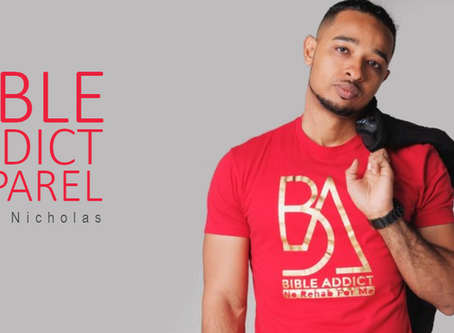 DJ Nicholas Launches Clothing Range with a Message
