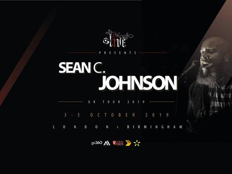 Sean C Johnson UK Dates