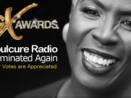 Soulcure Radio Nominated for 2019 GX Award