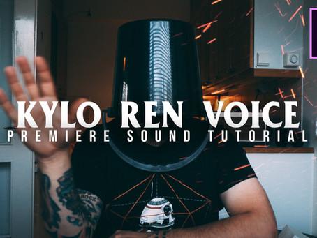 Kylo Ren voice tutorial