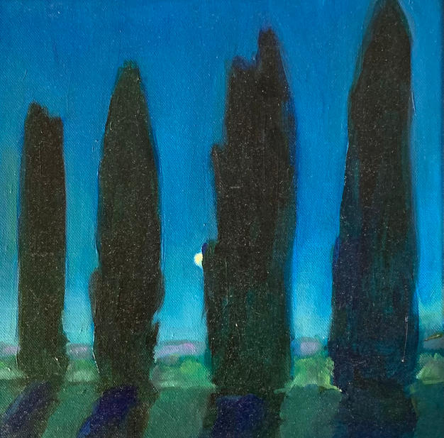 Four Cypresses