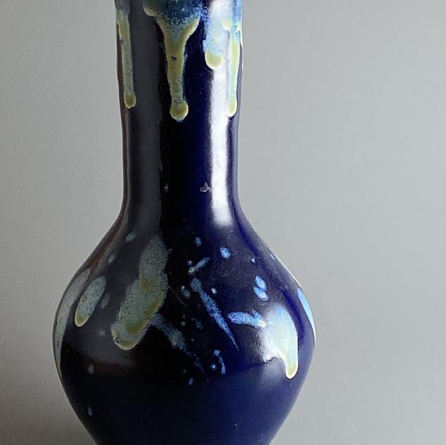 Blue Bronze Drip