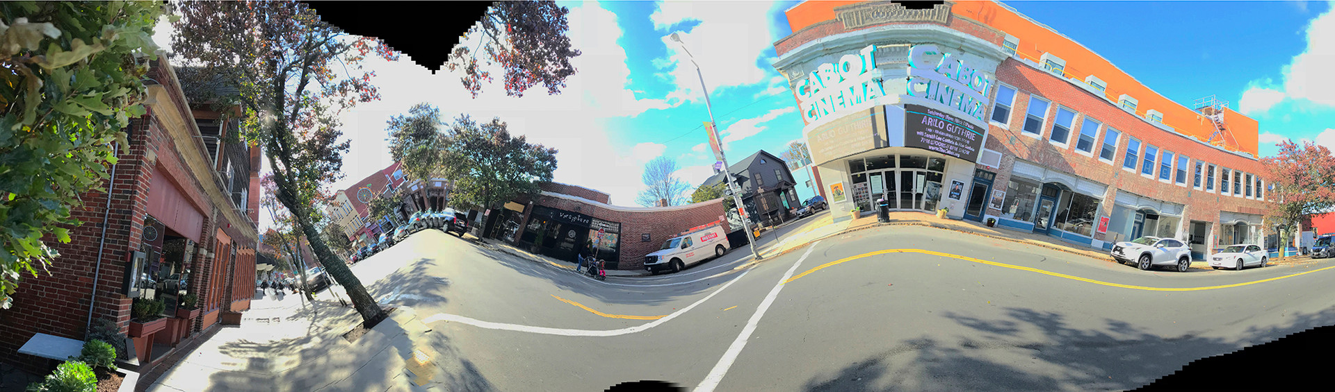 Along Cabot Street