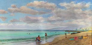 Beach at Sans Souci