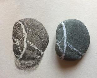 X inside O stone