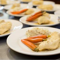 Malibu wedding chicken dish