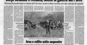 Corpi straziati e rottami, scene di guerra sul Piave