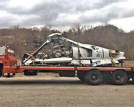 Elicottero caduto: recuperato relitto in quota in mezzo alla bufera di neve