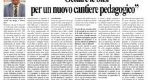 PAOLO ZANLUCCHI: GETTARE LE BASI PER UN NUOVO CANTIERE PEDAGOGICO.