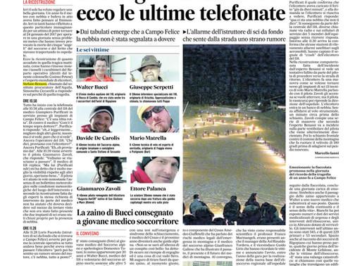 L'Aquila - La strage dell'elicottero: ecco le ultime telefonate.