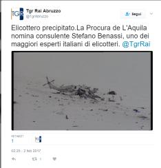 Rai TG Abruzzo - La Procura de L'Aquila nomina consulente Stefano Benassi