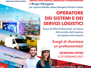 Operatore dei sistemi e dei servizi logistici. NUOVA QUALIFICA PROFESSIONALE A BORGO VALSUGANA