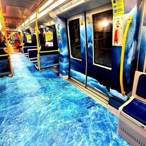Facility Network decora i treni della Metro5 linea lilla. Ed è subito marketing virale!