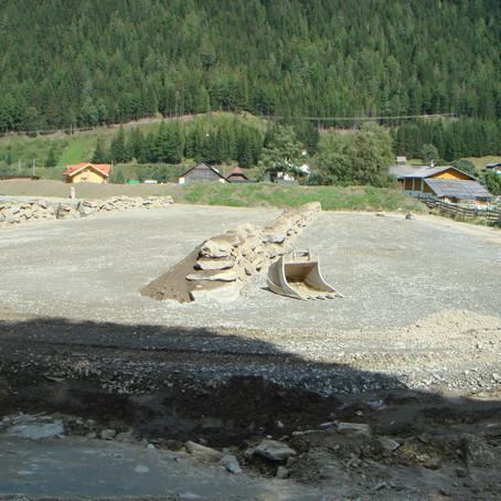 Bauarbeiten Alpin Camping Mallnitz: Stand August 2019