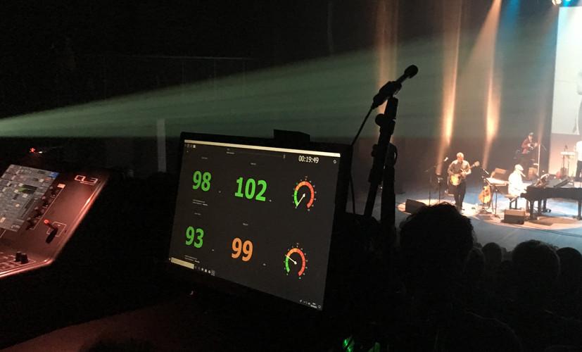 AWA-Music First, afficheur - enregistreur de niveaux sonores en concert