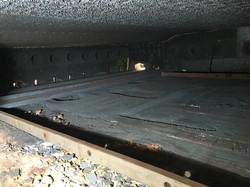 פירוק רצפת תנור ערגול והכנה לבנייה