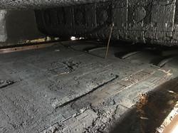 נזק ברצפת תנור ערגול