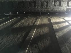 בניית רצפה - תנור ערגול
