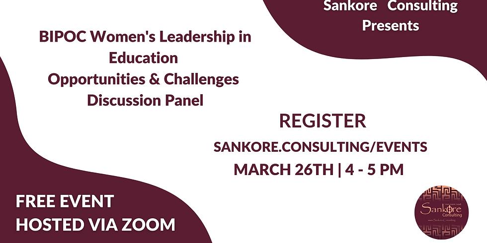 BIPOC Women Leadership Panel