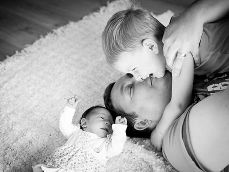 Newborn Homefotoshooting