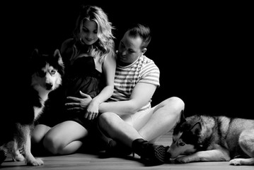 etwas bleibt Fotografie Fotostudio Elz Babybauchfoto Familienfoto Hundefoto