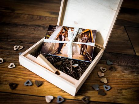 Holzbox statt CD