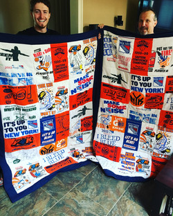 Father-Son Quilts with Towels