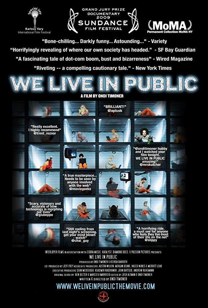 We live in public