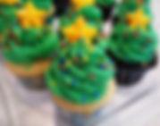 Christmas cupcakes, holiday cupcakes, christmas tree cupcakes, christmas tree, cleveland, strongsville, order cupcakes, cupcake shipping, order cupcakes online, ship cupcakes, holiday gifts, christmas gifts, edible gifts, desserts, cupcakes strongsville,