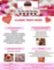 Valentine's Day Classic Menu, The Cute Little Cake Shop, Strongsville, Cleveland. Chocolate Coverd Strawberries,Cupcakes,Cake Balls, Cookies, Vegan,Gluten Free and More!