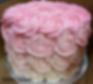 ohio, cleveland, strongsville, smash cake, smashcakes, cutting cakes, wedding cakes, small cakes, birthday cakes, cake, cakes, dessert cakes, top tier cake, cutting cake, cutting cakes, round layer cake, ombre, pink ombre, pink ombre cake, buttercream,