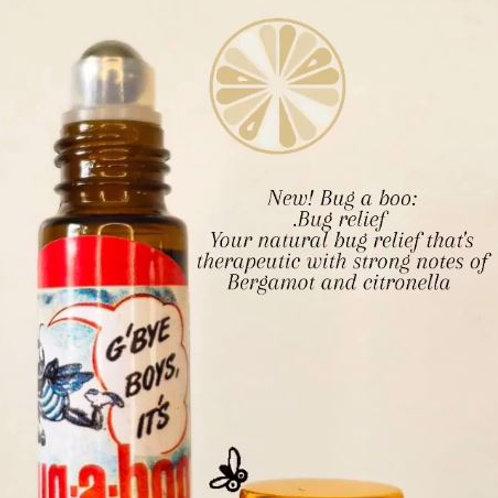 """""""Bugaboo"""" natural bug repellent"""