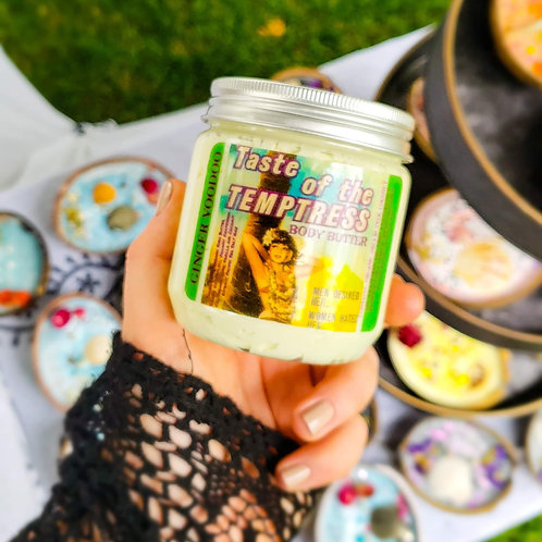 """""""Taste of the Temptress"""" Lime and Coconut Double Thick Whip Body Butter"""