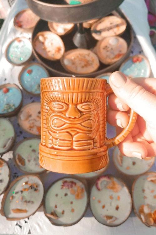 Kahuna Coffee Mug Soy Candle 12oz