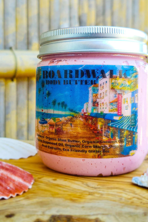 """""""BOARDWALK"""" Cotton Candy Whipped Body Butter 9oz"""