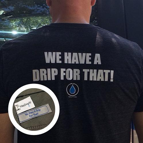 VitaDrip IV Therapy Unisex Triblend T-Shirt