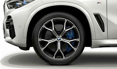 Комплект зимних оригинальных колес Double Spoke 741M G06