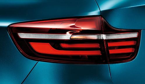Задние фонари BMW Black Line E71