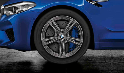 Комплект зимних оригинальных колес Double Spoke 705М Ferricgrey F90