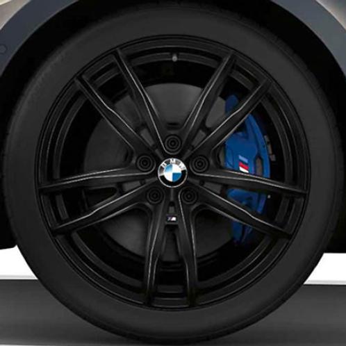 Комплект летних оригинальных колес Double Spoke 791 M Jet Black G20