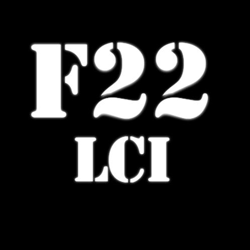 Щетки стеклоочистителя  2 Серия F22 LCI