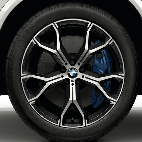 Комплект оригинальных колесных дисков  Y-Spoke 741 M Bicolor G06