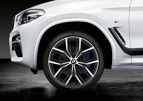 Комплект летних оригинальных колес Y-Spoke 701M Performance X3 G01