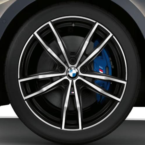 Комплект летних оригинальных колес  Double Spoke  791M Black G20