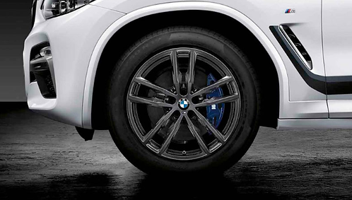 Комплект зимних оригинальных колес Double Spoke 698M G02